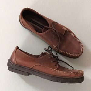 Leather Hush Puppies Loafers
